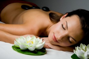 woman at spa for top ten natural beauty tips