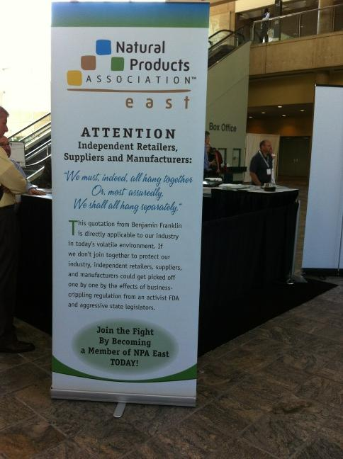 sevani at natural products expo east event