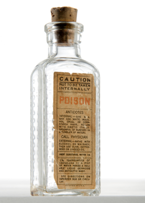 poision bottle