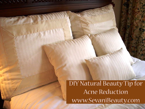 light brown pillows with natural beauty tips type